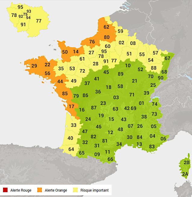 Carte @Météoconsult.fr