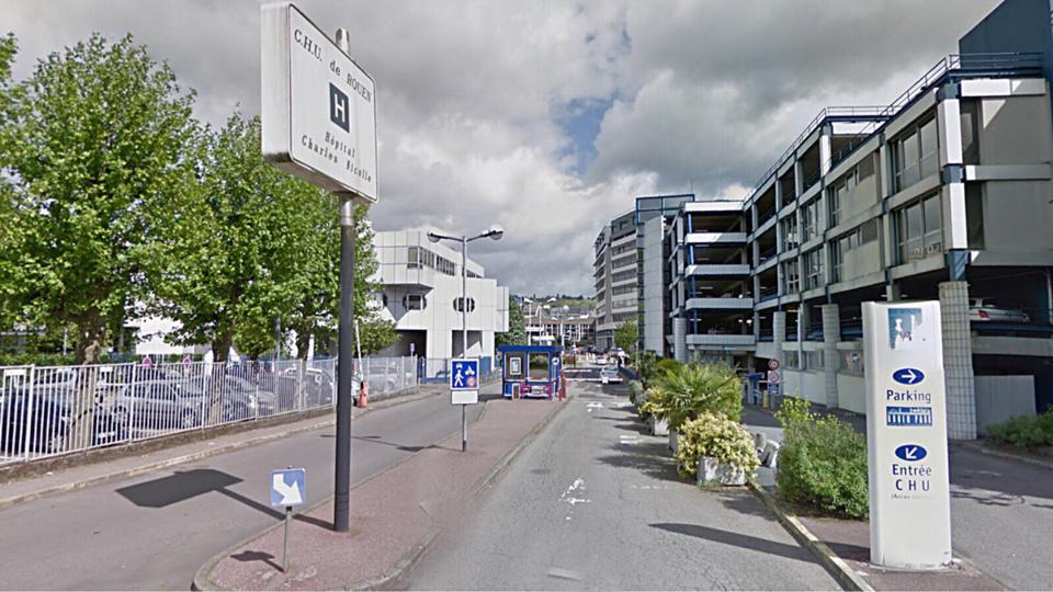 À Rouen, le voleur de vélo gaze le vigile du CHU : il est quand même maitrisé par la victime