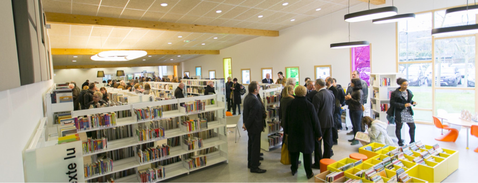 La nouvelle médiathèque a été inaugurée samedi
