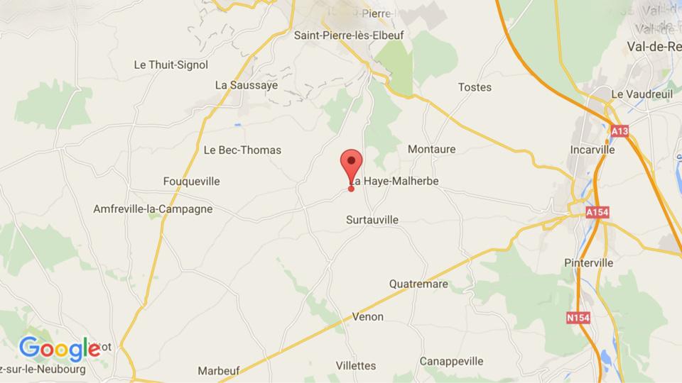 A Vraiville (Eure), un cycliste blessé, renversé par une voiture à un carrefour