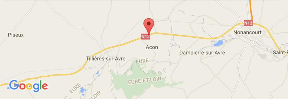 Eure : accident corporel sur la RN 12 entre Verneuil-sur-Avre et Nonancourt