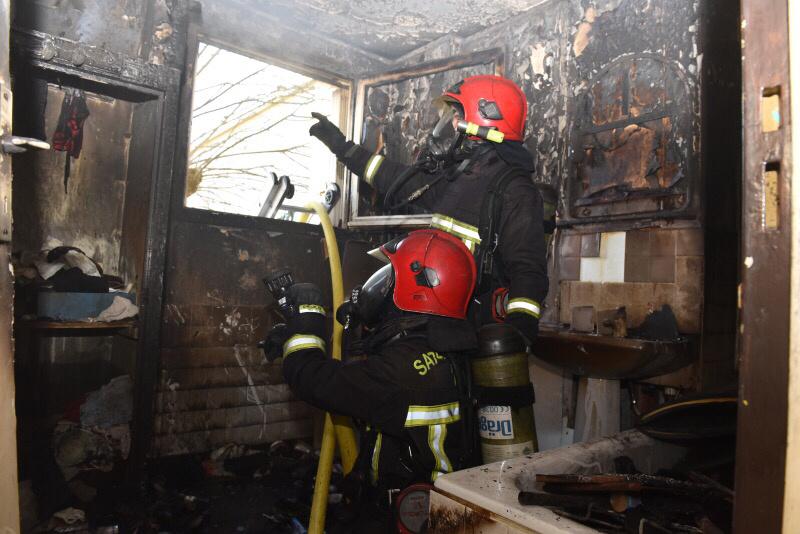 Feu de cuisine à Londinières : le détecteur de fumée réveille et sauve une famille
