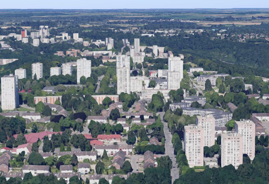 Hauts-de-Rouen : le programme de renouvellement urbain a d'ores et déjà permis la démolition de 2536 logements, la construction de 2 337 logements et la réhabilitation de 6 948 logements