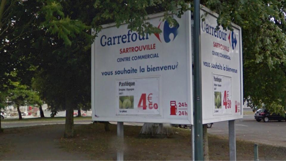 Sartrouville : la station service de Carrefour attaquée par deux malfaiteurs