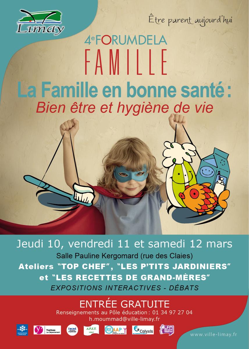 Limay : le forum de la famille se tient du 10 au 12 mars