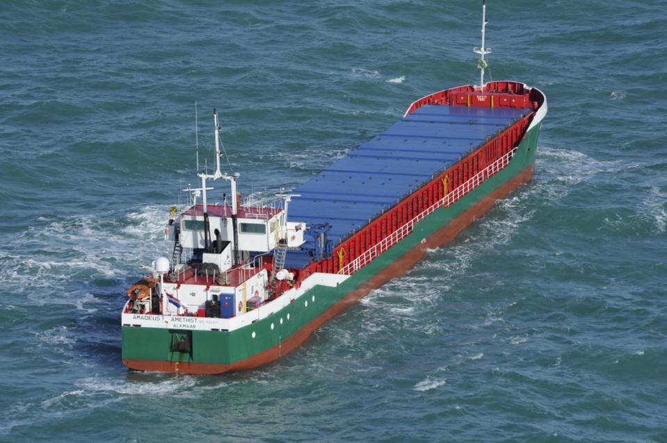 Des moyens maritimes déployés ce matin pour un cargo en difficulté au large de Fécamp