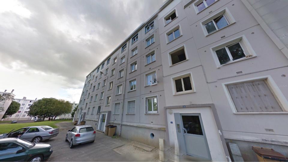 Le drame est survenu dans un appartement du dernier étage de cet immeuble des Hauts-de-Rouen