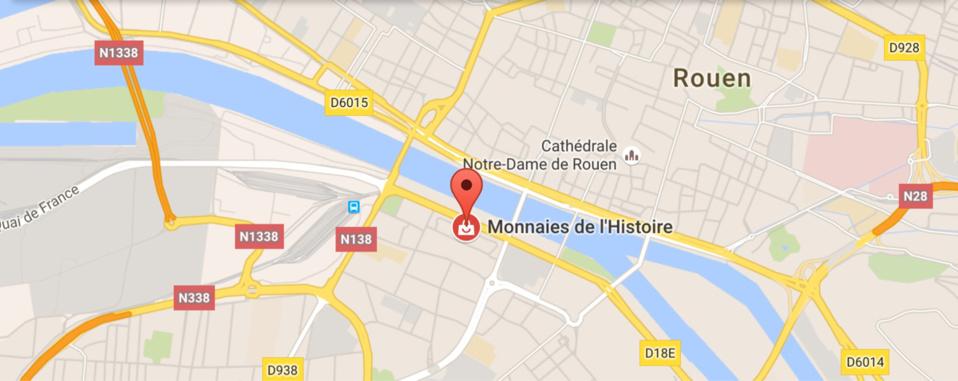 Le numismate tire sur le braqueur et le blesse au visage, ce matin à Rouen