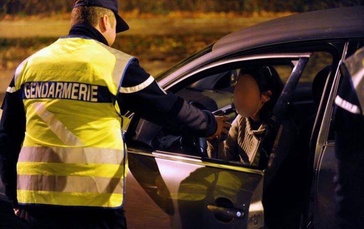 Les gendarmes d'Yvetot ont ciblé les entrées et sorties de discothèques (illustration@Gendarmerie)