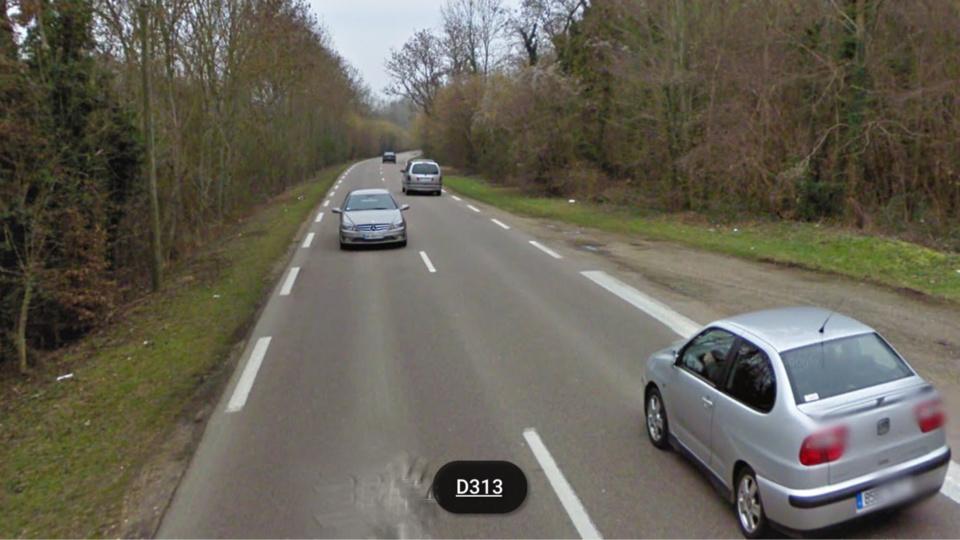 Le drame est survenu sur cette route départementale qui relie Louviers à Saint-Étienne-du-Vauvray (Illustration)