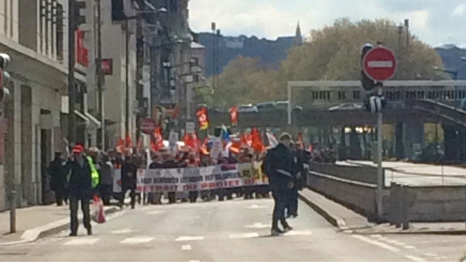 Seine-Maritime : plusieurs milliers de manifestants contre la loi El Khomri