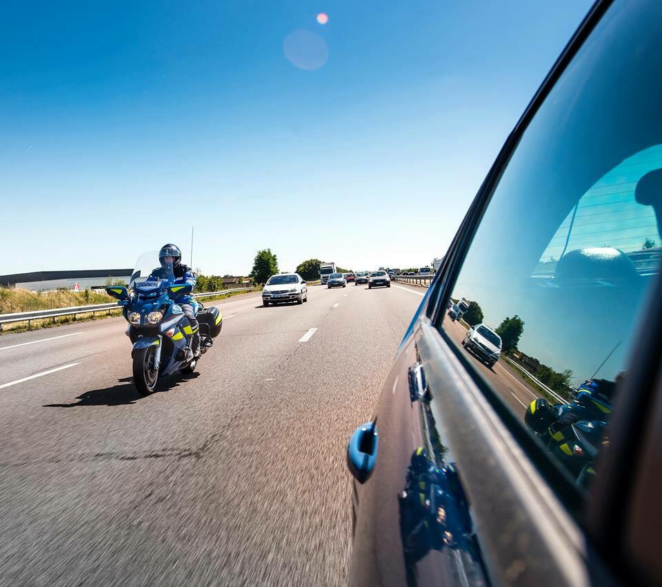 Vous ne serez pas seuls sur les routes ce week-end de l'Ascension, les forces de l'ordre veilleront et sanctionneront les mauvais conducteurs (Photo@gendarmerie/Facebook)