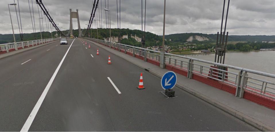 Seine-Maritime : le pont de Tancarville fermé en raison d'une manifestation sociale, ce matin