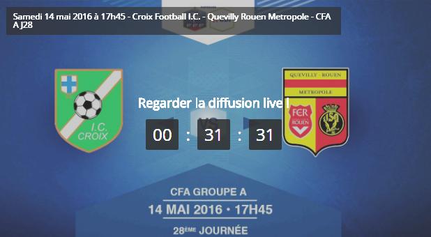 Football CFA : Quevilly-Rouen-Métropole joue la montée en National, ce soir dans le Nord
