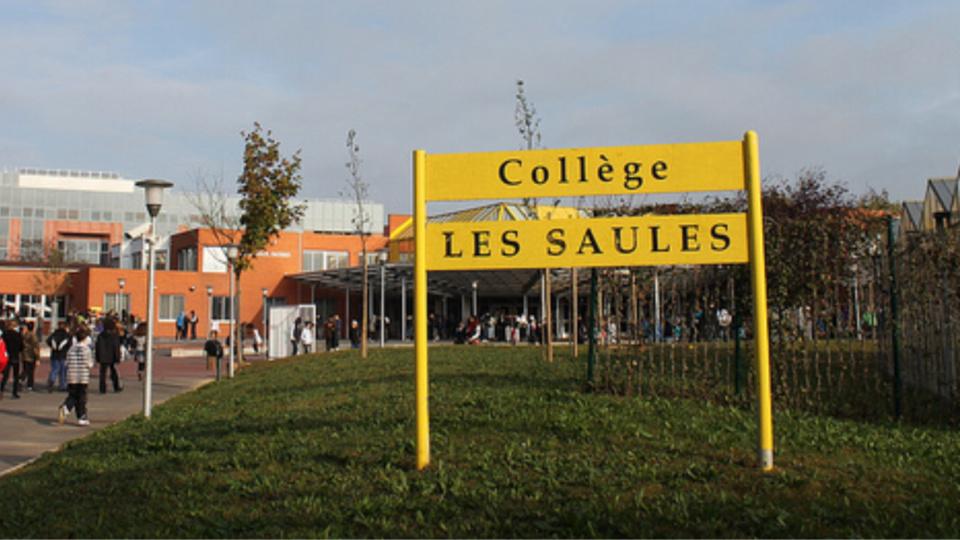 La rixe s'est déroulée devant le collège (illustration)