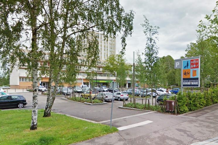 La Civette est installée dans le centre commercial de la Grand'Mare sur les Hauts-de-Rouen (Illustration@GoogleMaps)