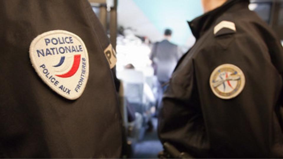 Les quatre clandestins ont été placés en rétention dans les locaux de la police aux frontières, à Rouen (Illustration@DGPN)