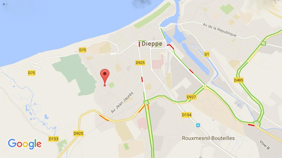 Dieppe : une femme de 89 ans se tue en tombant du 4ème étage