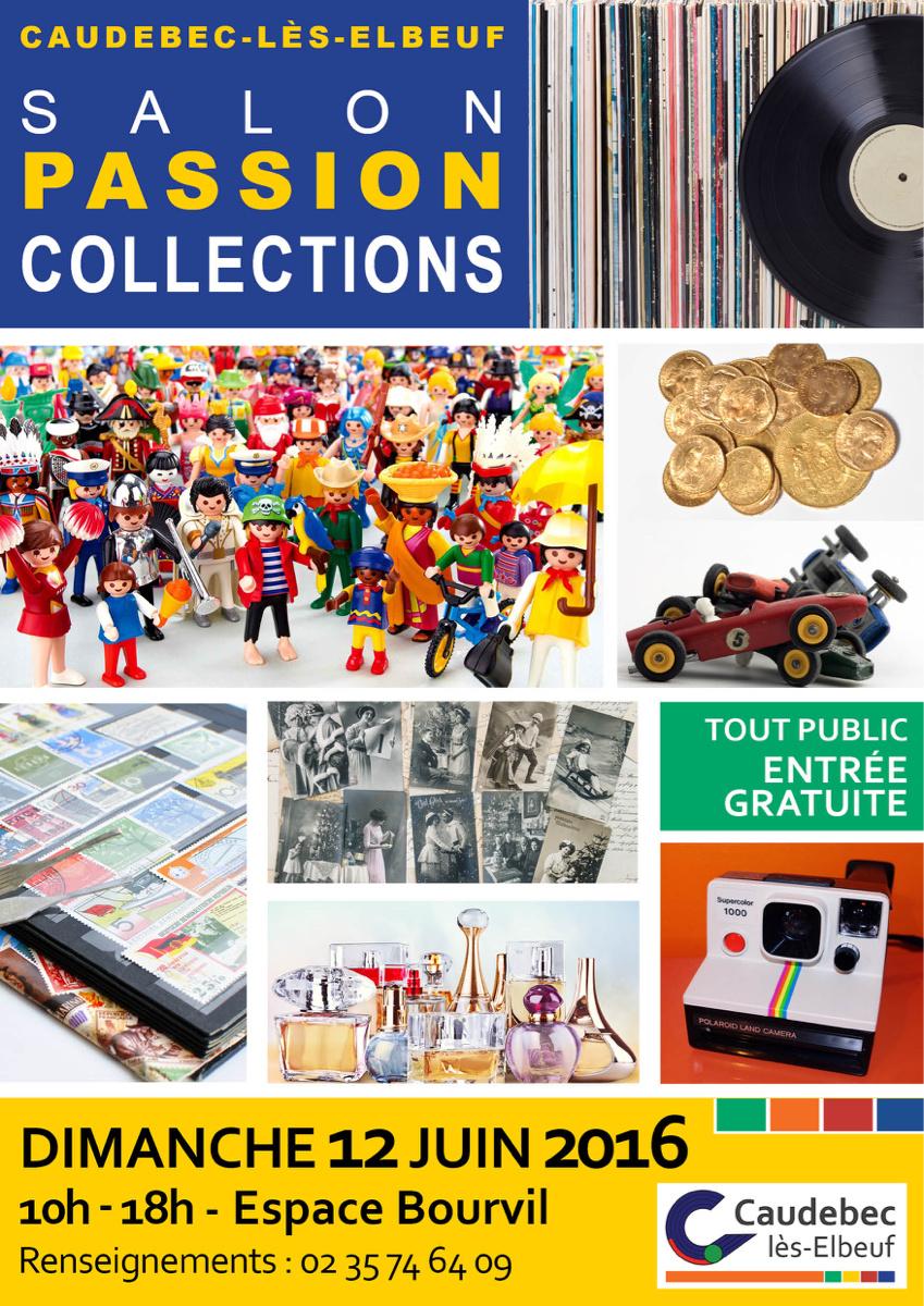 Caudebec-lès-Elbeuf : Salon Passion Collections dimanche 12 juin à l'Espace Bourvil