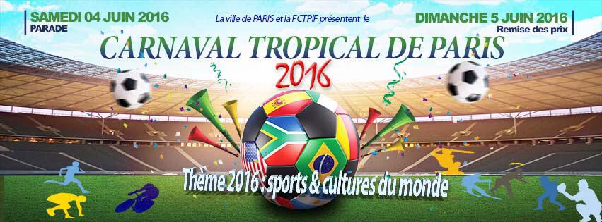 Plus d'infos sur le site Carnaval Tropical de Paris en cliquant ici