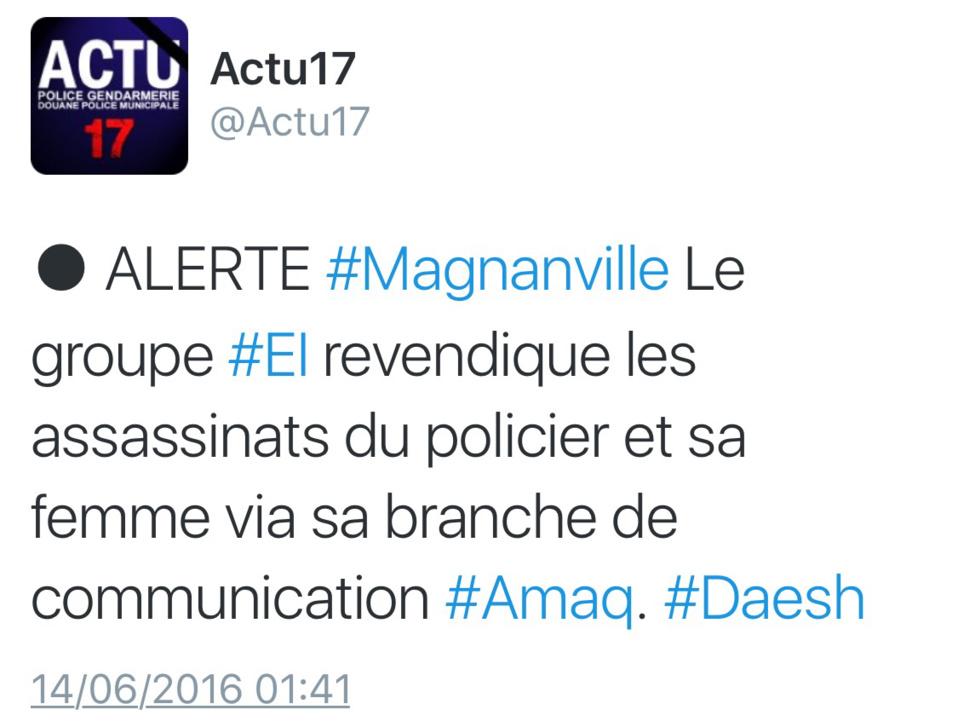 Policier tué à Magnanville : le meurtrier abattu par les policiers d'élite, l'épouse retrouvée morte