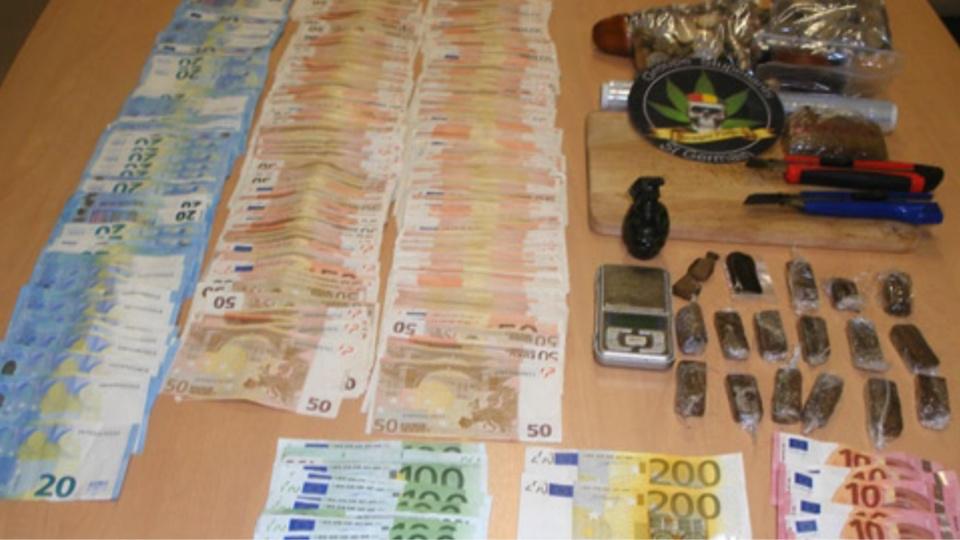 Le trafic durait depuis plus d'un an et aurait rapporté jusqu'à 80 000€ au dealer (Photos@DDSP78)