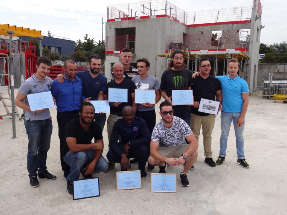 sur les 14 candidats de la promotion, six viennent de signer un CDI chez Vinci.