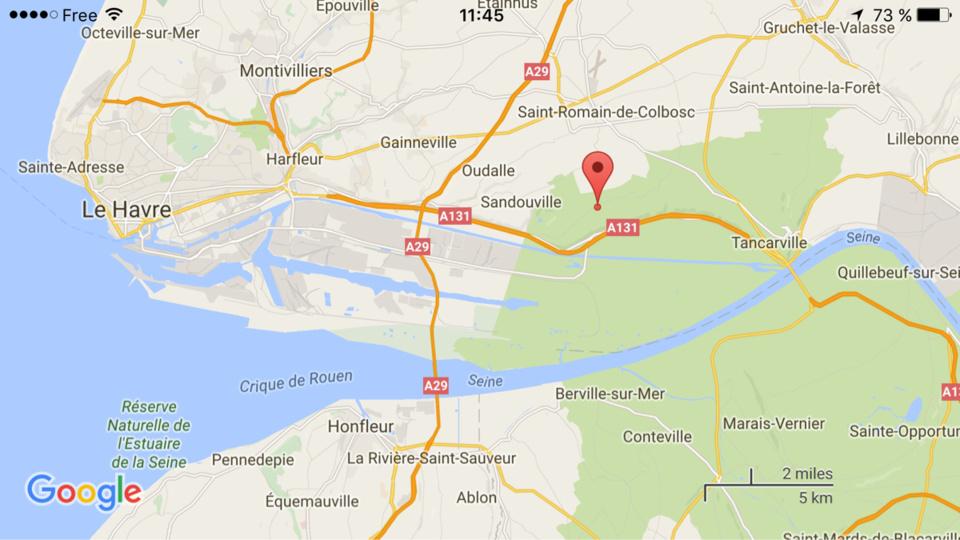 Seine-Maritime : collision entre deux poids-lourds de matières dangereuses. Un blessé léger
