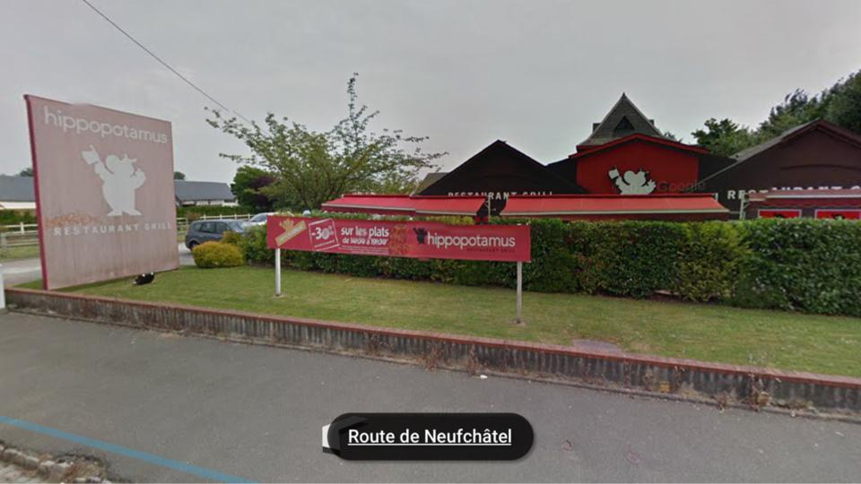 Bois-Guillaume : le restaurant Hippopotamus braqué hier soir par un malfaiteur solitaire