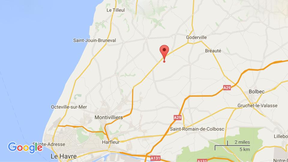 Seine-Maritime : 4 blessés, dont deux graves, dans une collision sur le CD915 prés de Goderville