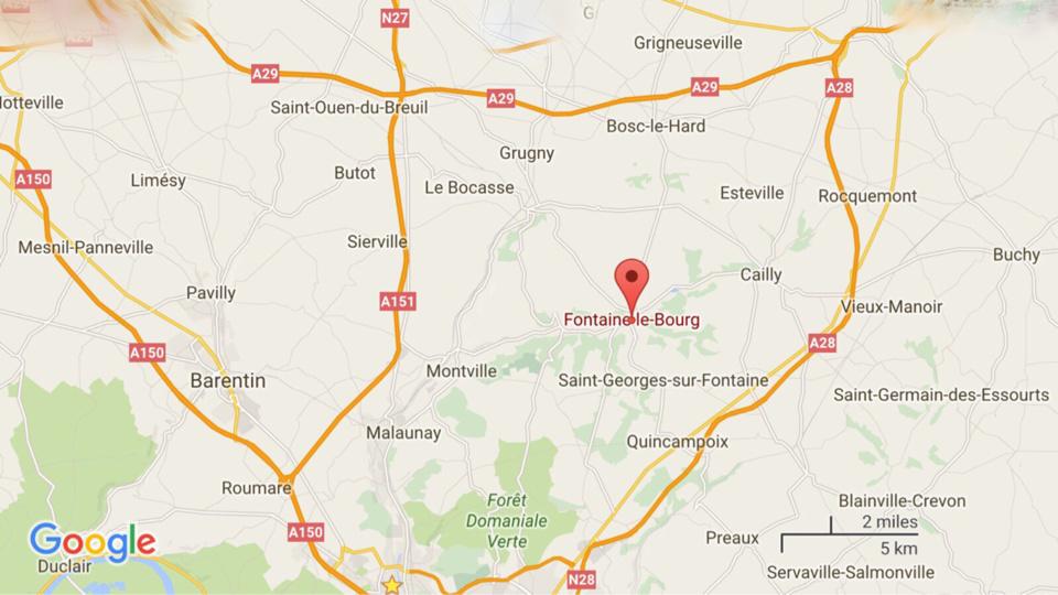 Seine-Maritime : 5 hectares de chaume détruits par le feu cet après-midi à Fontaine-le-Bourg