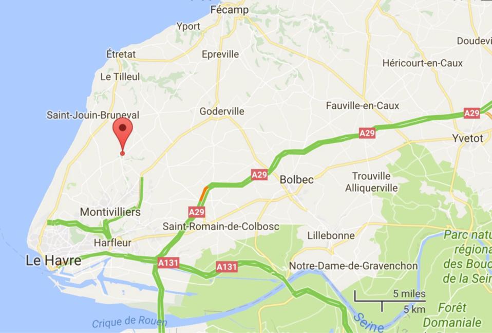 Seine-Maritime : un tué et quatre blessés graves dans un accident de la route à Saint-Martin-du-Bec