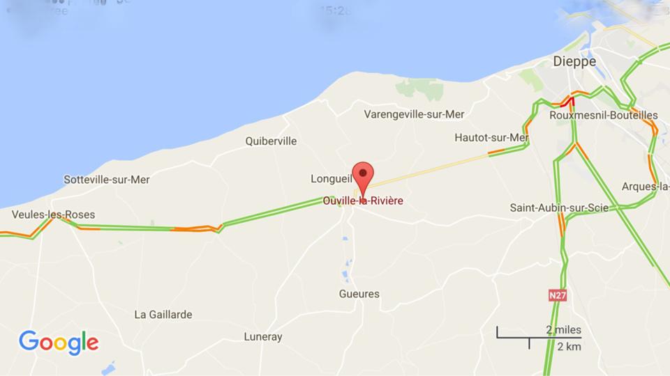 Deux blessés, dont un grave, dans une collision entre trois véhicules à Ouville-la-Rivière