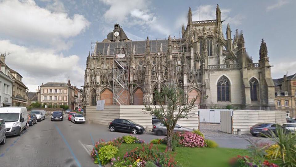 L'église Notre-Dame de Louviers (Illustration)