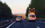 Accident sur l'A13 ce matin : 8 km de bouchon entre Incarville et Rouen