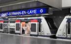 Le RER bloqué à cause d'une valise suspecte a Saint-Germain-en-Laye