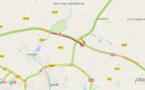 L'A81 coupée en Mayenne après l'accident d'un poids-lourd transportant des cochons vivants