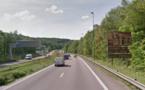 Seine-Maritime : travaux de réfection de la chaussée sur l'A 150 à Canteleu