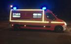 Yvelines. Un motard grièvement blessé en percutant le portail des sapeurs-pompiers de Limay
