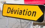 Un poids-lourd renversé dans un rond-point à Châteaudun (Eure-et-Loir) : suivre les déviations