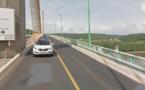 Caudebec-en-Caux : des témoins empêchent une personne de se jeter du pont de Brotonne