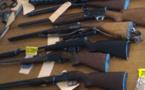 Les armes étaient détenues illégalement. Elles ont été détruites sur ordre du procureur de la République (Illustration)
