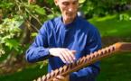 Sculpteur, musicien, élagueur et magicien… Joé Le Piez au château d'Harcourt pour cinq jours