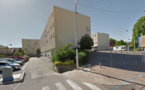 Des chiffons enflammés sous la porte d'un appartement inoccupé à Chanteloup-les-Vignes