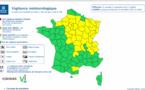 Vent violent et pluie-inondation : la Seine-Maritime et l'Eure placés en vigilance jaune ce week-end