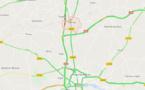 Circulation perturbée sur l'A10 au nord d'Orléans (Loiret) après un accident de poids-lourd