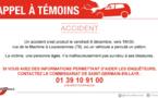 Accident mortel à Louveciennes : la police des Yvelines lance un appel à témoin