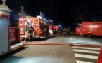 Des moyens importants ont été engagés pour empêcher la propagation du feu - Illustration