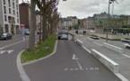 La fumée sortait du parking place de Gaulle - Illustration © Google Maps