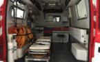 La victime, âgée de 34 ans, a été examinée sur place avant d'être transportée à l'hôpital de Dieppe - Illustration © Pixabay